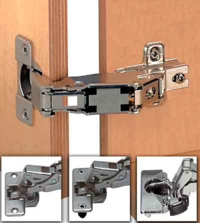 Wardrobe door hinges b&q