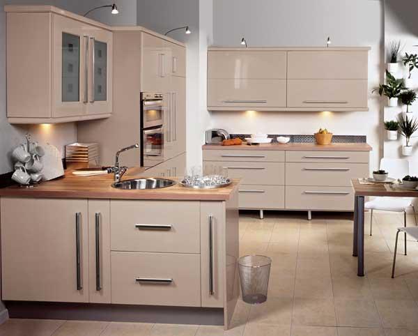 Eclipse Glossy Kitchen Set
